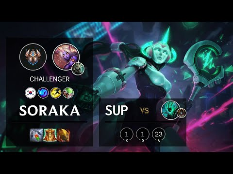 Soraka Support vs Thresh - KR Challenger Patch 10.18