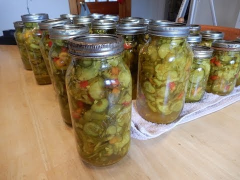 How to Make & Can,  Josie's Bread & Butter Pickles