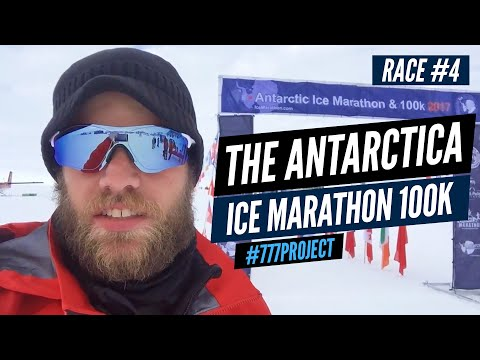 Race #4 - The Antarctica Ice Marathon 100k - #777project