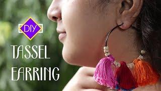 DIY Tassel Earrings | How To Make Earrings at Home | Handmade Jewellery  #ShemarooLifestyle