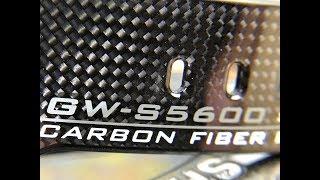 Gshock gw-s5600 carbon fiber square