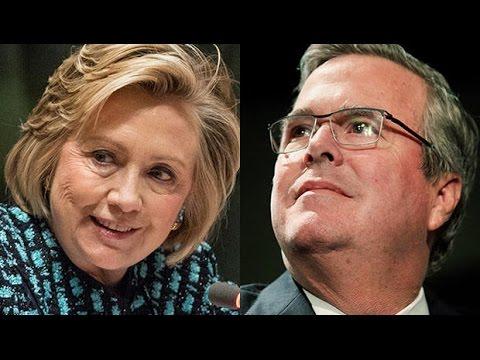 CNN Poll July 2015: Hillary Clinton 51, Jeb Bush 46; Bush Over Trump In August