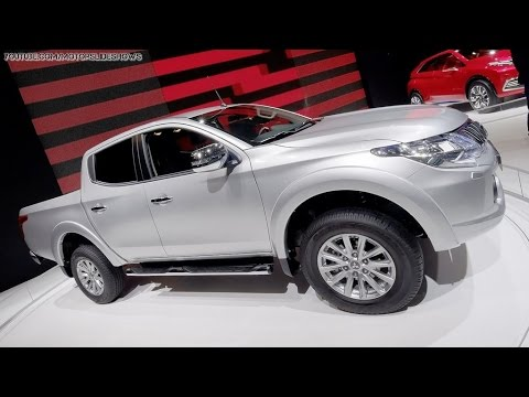 All-New Mitsubishi L200 For Europe - 2015 Geneva Motor Show