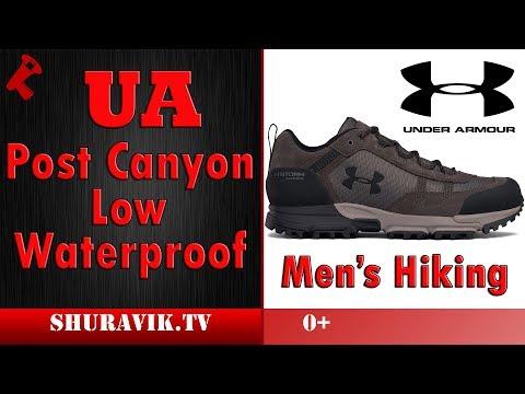 7d6371d140e UA Post Canyon Low Waterproof - Men's Hiking - YouTube