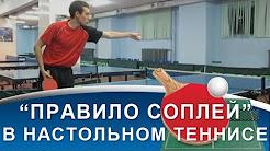 Реферат На Тему Правила Игры в Настольный Теннис Правило соплей в НАСТОЛЬНОМ ТЕННИСЕ Спорные мячи НАСТОЛЬНЫЙ ТЕННИС