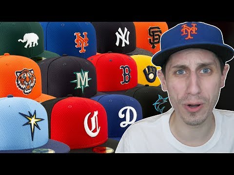 REACTING TO NEW MLB SPRING TRAINING HATS