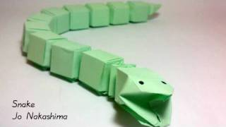 Origami Snake (Jo Nakashima)