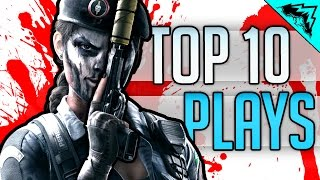 CAVEIRA'S HIDING SPOT - TOP 10 Rainbow 6 Siege Plays of the Week (Bonus Plays 40)