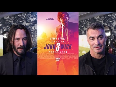 Keanu Reeves & Chad Stahelski On John Wick Chapter 3 Parabellum (HD)