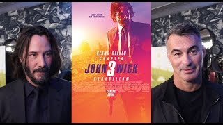 Keanu Reeves & Chad Stahelski On John Wick Chapter 3 Parabellum (HD)