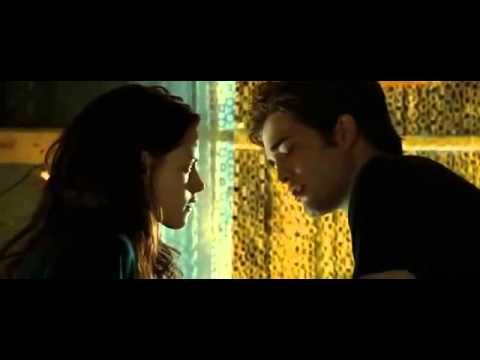 Twilight 1 Edward and Bella first kiss