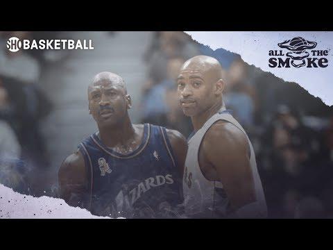 Vince Carter Ranks His Top 3 NBA Goats of MJ, Kobe, & Lebron   ALL THE SMOKE