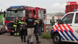 Illegale tabaksfabriek ontdekt na brandmelding in Dongen