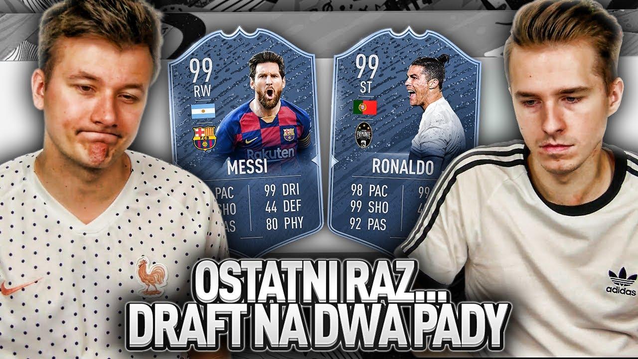 OSTATNI RAZ. DRAFT NA DWA PADY | FIFA 20