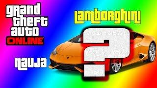 GTA 5 Online Lietuviškai Nauja Lamborghini!!! (juokingi momentai)