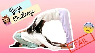 ¡YOGA CHALLENGE EN PIJAMA! - CreDash