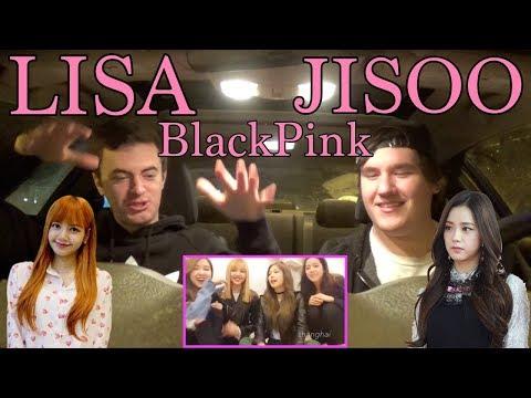 LISA (BlackPink) THAI ACCENT Reaction [Surprise Jisoo English Reaction]