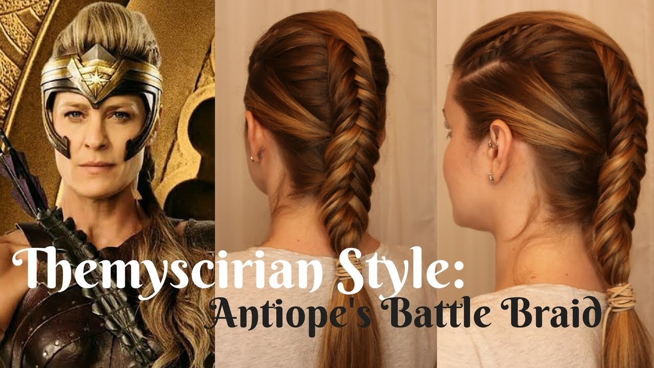 Wonderwoman Inspired Themyscirian Style Antiopes Battle Braid
