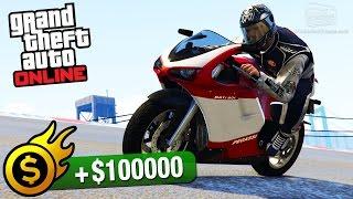 GTA Online - Premium Race #24 - Over the Bridge (Cunning Stunts)