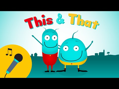 *KARAOKE INTROSONG*   This & That   Songs for toddlers   learning opposites