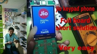 Jio Phone Full Bord Short  Solution