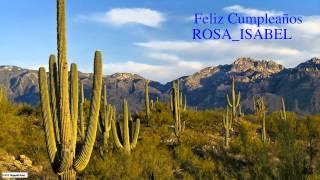 RosaIsabel   Nature & Naturaleza - Happy Birthday