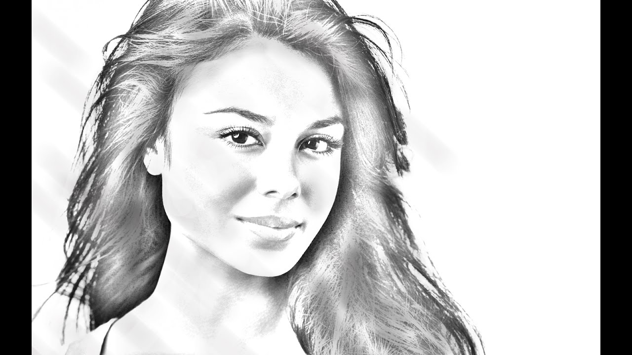 Photoshop pencil sketch tutorial easy steps to convert photo into pencil sketch