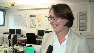 Annette Widmann-Mauz (CDU) zu Besuch in der RTF.1-Redaktion