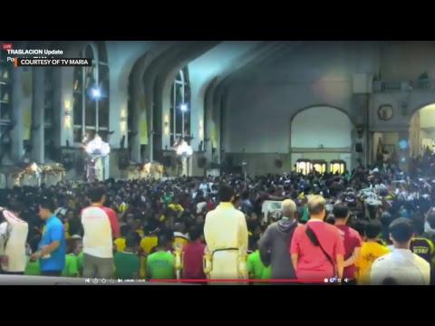 Nazareno 2019: Black Nazarene returns to the Quiapo Church