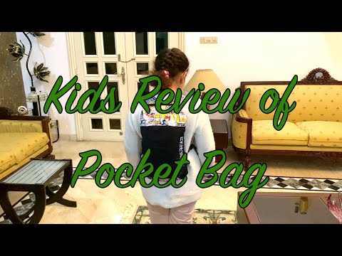 Pocket Bag Kid's 1 minute Review | Alpinebear