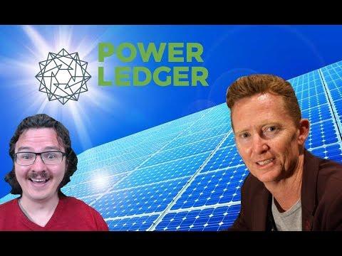 Power Ledger / POWR - Co-Founder David Martin Talks Partnerships and the Future