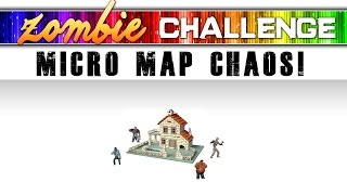 ZOMBIE CHALLENGE ★ MICRO MAP CHAOS (Call of Duty Zombies)