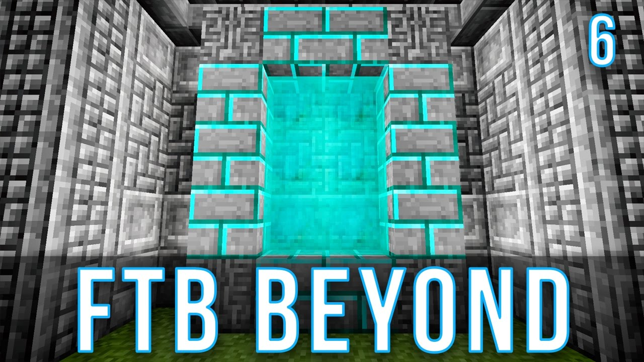 Mining Dimension and Nether | FTB Beyond | Episode 6