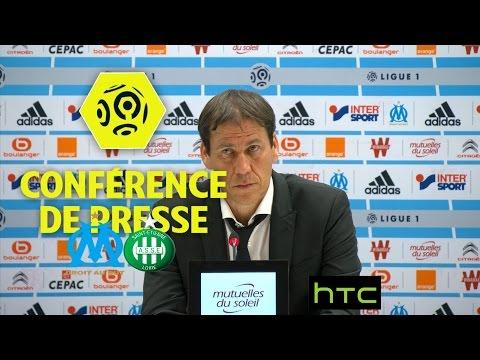 Conférence de presse Olympique de Marseille - AS Saint-Etienne (4-0) - Ligue 1 / 2016-17