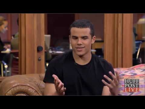 Jacob Artist talking about Melissa Benoist