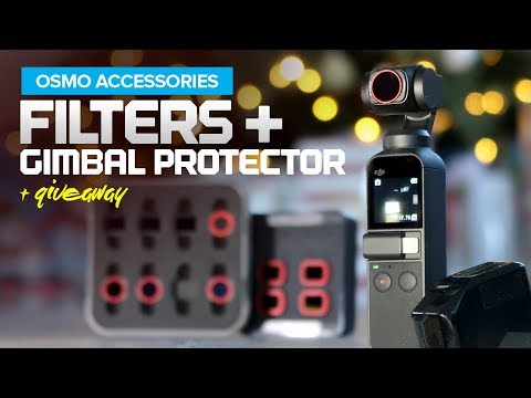 ND Filters And Gimbal Protector For The DJI Osmo Pocket Camera