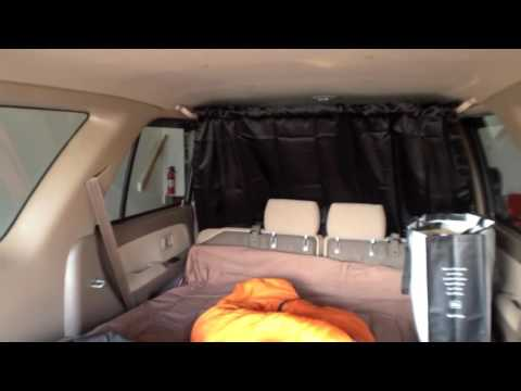 How to Hang Clothes or a Curtain in Your Car