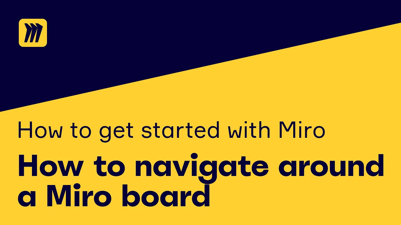 How to Navigate Around A Miro Board