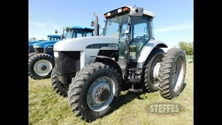 1998 White 8410 Tractor with 6380 Hours Sold Today on North Dakota Farm Auction