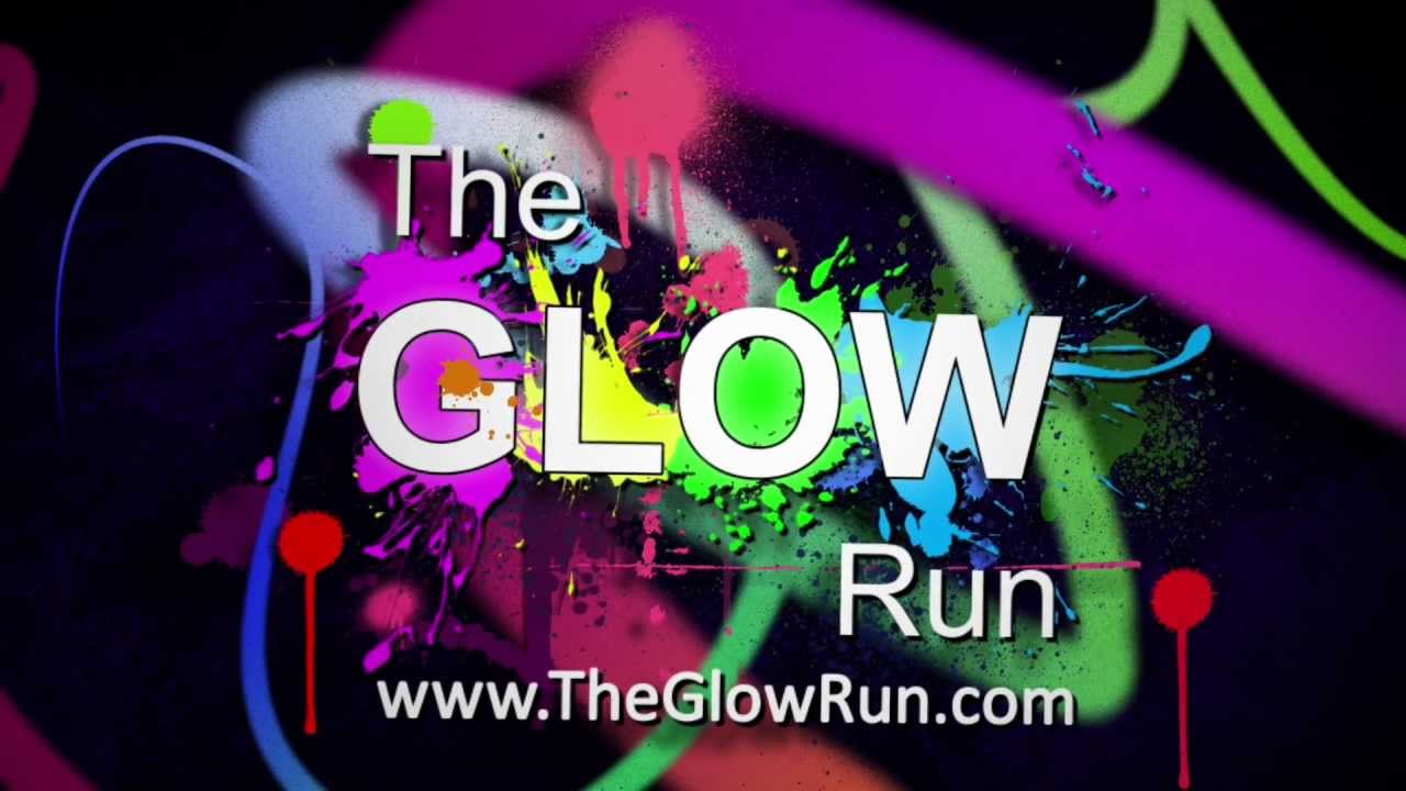 The Glow Run - The MOST FUN you can have in the Dark! - YouTube