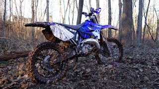 YZ125 FMF Shorty and Fatty Exhaust Combo