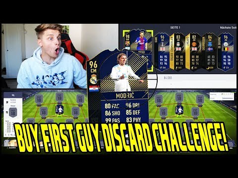 96 TOTY MODRIC Buy First Guy Discard CHALLENGE 💎💎 Fifa 18 Ultimate Team Deutsch