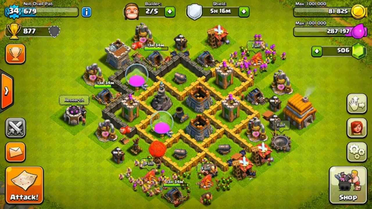 clash of clans best town hall 5 defense base design youtube