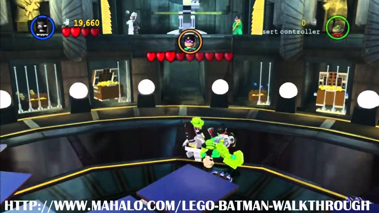 LEGO Batman Walkthrough - Boss Battle: Riddler and Two ...