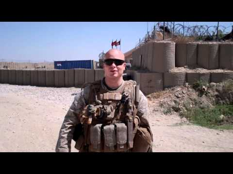 Marine in Afghanistan asks Mila Kunis to the 3/2 Marine Corps Ball