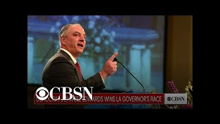 Governor John Bel Edwards win re-election in Lousiana governor's race