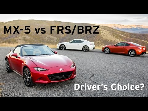 the driver 39 s choice mx5 vs frs gt86 brz everyday driver cars. Black Bedroom Furniture Sets. Home Design Ideas