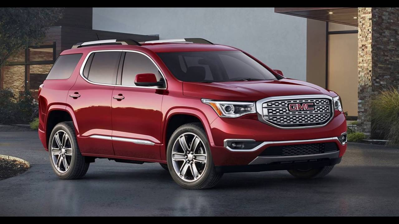 2017 2018 gmc acadia denali suv review cost release date youtube. Black Bedroom Furniture Sets. Home Design Ideas