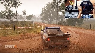 Ford RS200 Dirt 4 (logitech g29 + shifter) gameplay
