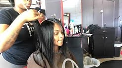 Glueless Quick Weave (100% Protective Style)